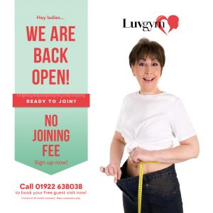 LuvGym No joining Fee offer square post